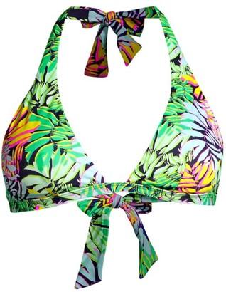 Vilebrequin Fleche Tropical-Print Bikini Top