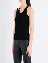 Helmut Lang Double-strap stretch tank top