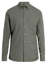 Ermenegildo Zegna Long-sleeved cotton button-cuff shirt