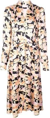 Stine Goya Swan shirt dress