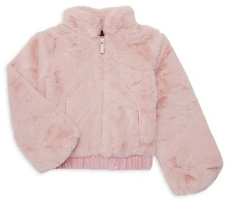 Imoga Little Girl's Girl's Faux Fur Jacket