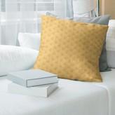 Jordao Zig Zag Pattern Throw Pillow Cover Brayden Studio Color: Light Yellow, Cover Material: Faux Linen