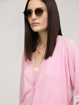 Luisa Via Roma Cashmere Knit Cardigan