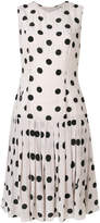 Natasha Zinko polka dot flared dress