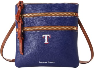 Dooney & Bourke MLB Rangers N S Triple Zip Crossbody