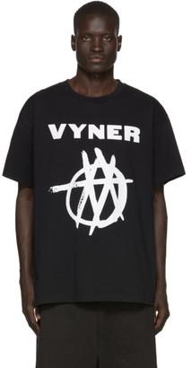 Vyner Articles Black Vision Logo T-Shirt