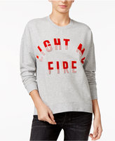 GUESS Light My Fire Graphic Sweatshirt