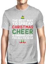 Love 365Printing Best Way To Spread Christmas Cheer Grey Women's Shirt Holiday Gift