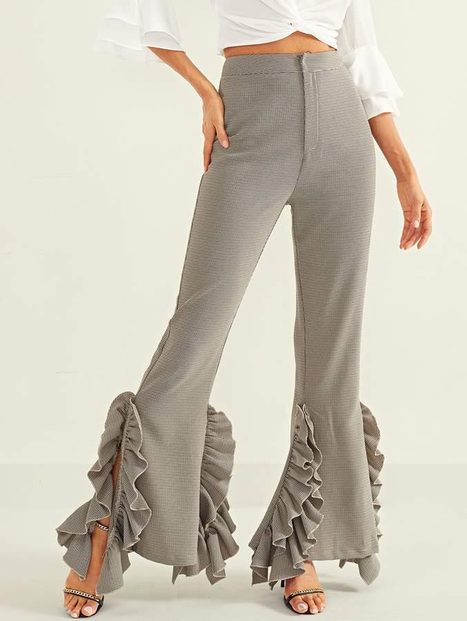 e702e20af6 Shein Gray Women's Pants - ShopStyle