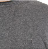 Trussardi Wool And Cotton Blend Sweater