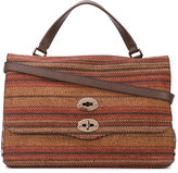 Zanellato woven tote - women - Raffia/Leather - One Size