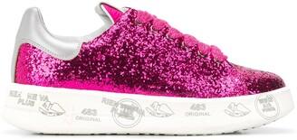 Premiata Belle embellished sneakers