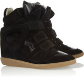 The Bekket leather and suede sneakers