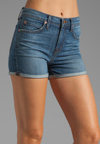 J Brand High Waisted Rolled Shorts
