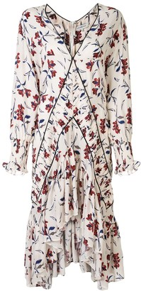 Lug Von Siga Amber floral dress