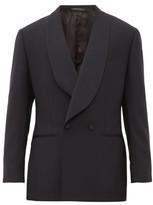 Thom Sweeney - Shawl Lapel Wool Tuxedo Jacket - Mens - Dark Navy