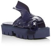 No.21 No. 21 Kartell Knot Platform Slide Sandals