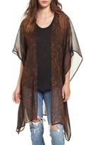Sun & Shadow Women's Drape Kimono