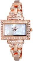 Adee Kaye Women's Ave Of The Stars Brass Bracelet & Case Quartz Watch Ak19-Lrg