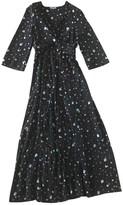 Ganni Black Silk Dresses