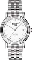 Tissot Men's Carson T95.1.483.91 Stainless-Steel Automatic Watch with Dial