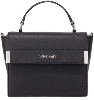 Iconic American Designer Raelynn Small Saffiano Crossbody Bag