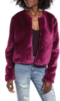 WAYF x Influencers Brooklyn Faux Fur Chubby Jacket