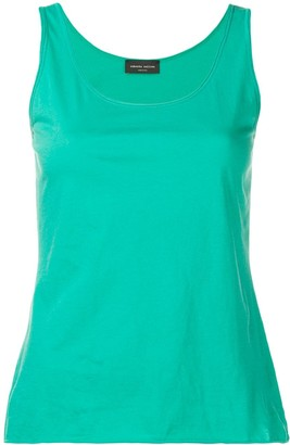 Roberto Collina Scoop Neck Tank Top