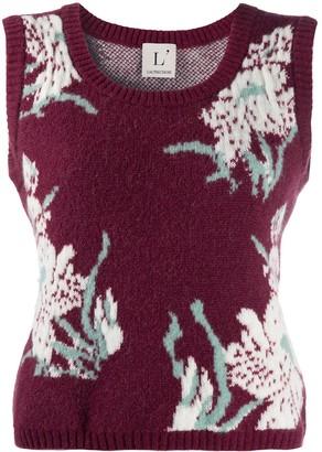 L'Autre Chose Flower Print Vest