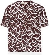 Marni White Printed Cotton T-shirt