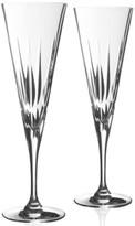 Vera Wang Wedgwood Peplum Toasting Flute Pair