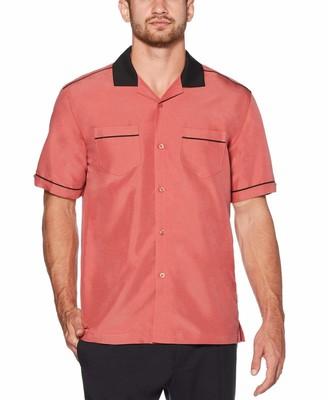 Cubavera Camp Collar Retro Shirt