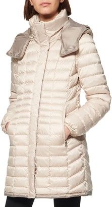Andrew Marc Marble Packable Puffer Jacket