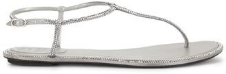 Rene Caovilla Diana Strass Flip sandals