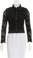 Karen Millen Lace Evening Jacket