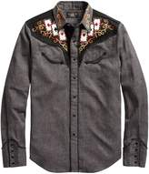 Ralph Lauren Saddle Cotton Western Shirt