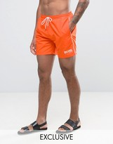 HUGO BOSS BOSS By Star Fish Swim Short Exclusive Orange