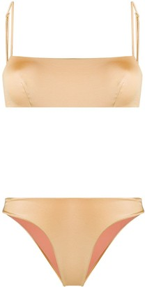 John Richmond Dotson thin-strap bikini