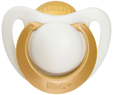 NUK Genius Size 2 Latex Soother, Pack of 2, Clear