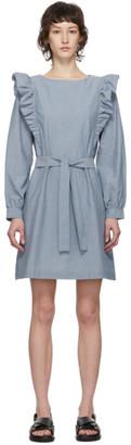 A.P.C. Blue Tess Dress