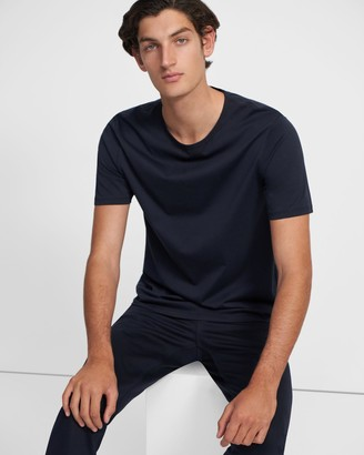Theory Precise Tee in Luxe Cotton Jersey