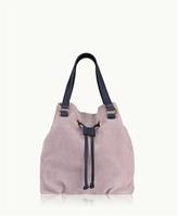 GiGi New York Jolie Bucket Bag French Nubuck Suede