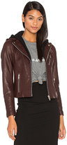 Doma Detachable Hood Moto Jacket