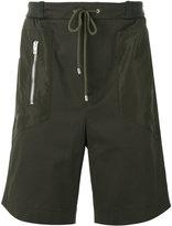 Les Hommes Urban - drawstring track shorts - men - Cotton/Polyester/Spandex/Elastane - 44