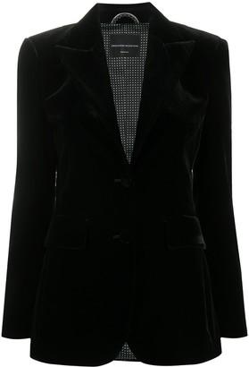 Ermanno Scervino Long-Sleeved Velvet Blazer