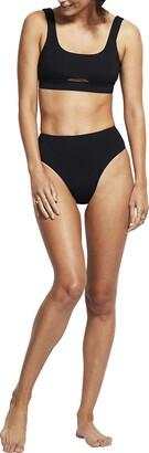 Seafolly Women's Tank Bra Bikini Top Swimsuit with Keyhole Detail