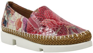 L'Amour des Pieds Stazzema Snakeskin Texture Loafer