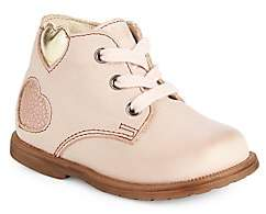 Naturino Baby's & Little Girl's Falcotto Butterfly Leather Ankle Boots