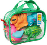 Alex Rub A Dub Bath Squirters Jungle 4-pc. Toy Playset