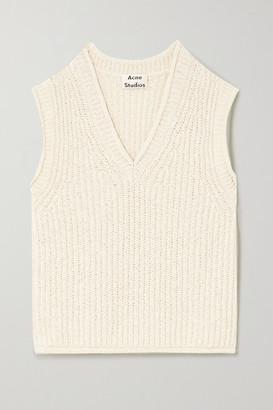 Acne Studios Ribbed Cotton-blend Vest